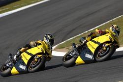 Carlos Checa, Tech 3 Yamaha; James Ellison, Tech 3 Yamaha