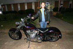 Dorsey Schroeder et sa Harley Davidson