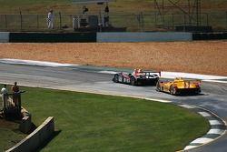 #37 Intersport Racing Lola B05/40 AER: Clint Field, Liz Halliday, Jon Field, #6 Penske Motorsports P