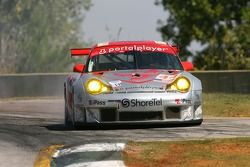 #44 Flying Lizard Motorsports Porsche 911 GT3 RSR: Seth Neiman, Lonnie Pechnik, Darren Law goes off