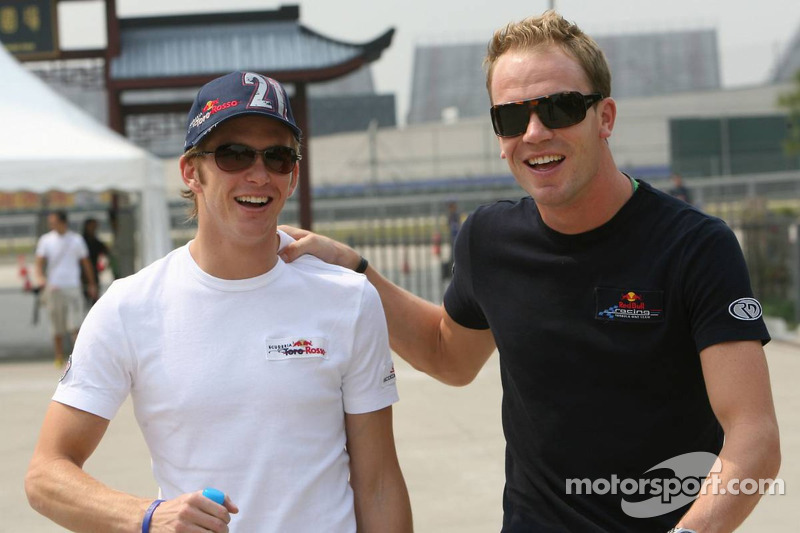 Scott Speed y Robert Doornbos
