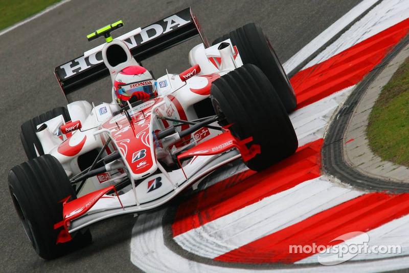 2006 год. Франк Монтани. 7 гонок в Super Aguri