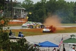 #9 Highcroft Racing Lola EX257: Duncan Dayton, Memo Gidley, Vitor Meira and #23 Alex Job Racing Pors