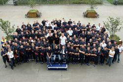 Scuderia Toro Rosso and Red Bull Racing team photo