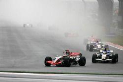 Départ : Kimi Raikkonen et Jenson Button