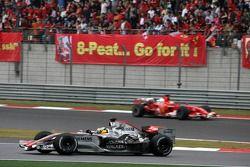 Pedro de la Rosa et Felipe Massa