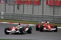 Ralf Schumacher voor Felipe Massa