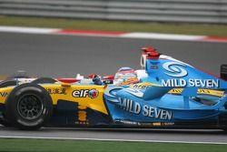 Fernando Alonso et Takuma Sato