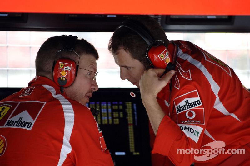 Ross Brawn y Stefano Domenicali