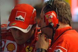 Felipe Massa et Jean Todt