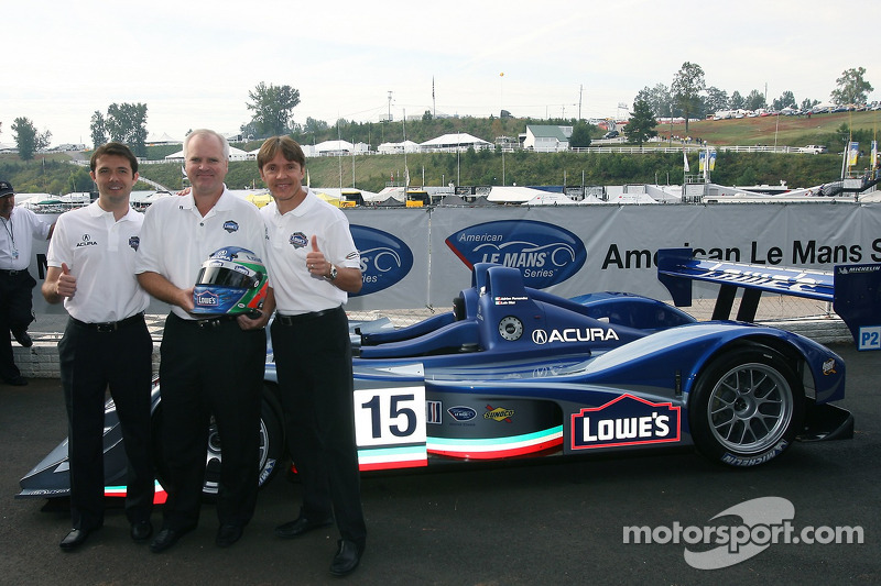 Fernandez Racing Lowe's Acura Lola LMP2 presentación: Adrián Fernández y Luis Díaz presentan el Acura Lola LMP2