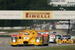 Tour de formation : la Porsche RS Spyder #6 Penske Motorsports : Sascha Maassen, Timo Bernhard, Emma