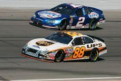 Dale Jarrett y Kurt Busch