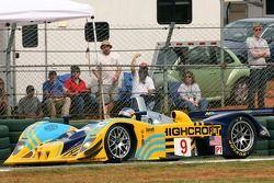Tête à queue pour la Lola EX257 #9 Highcroft Racing : Duncan Dayton, Memo Gidley, Vitor Meira