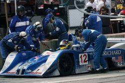 Pitstop pour la Lola EX257 AER #12 Autocon Motorsports : Michael Lewis, Chris McMurry, Bryan Willman