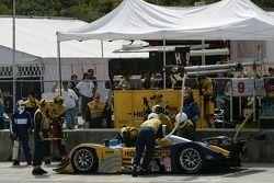 Pitstop pour la Lola EX257 #9 Highcroft Racing : Duncan Dayton, Memo Gidley, Vitor Meira