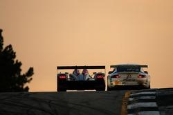 #1 Audi Sport North America Audi R10 TDI Power: Frank Biela, Emanuele Pirro, Marco Werner, #23 Alex