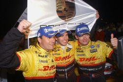 Vainqueurs de classe Sascha Maassen, Timo Bernhard, Emmanuel Collard