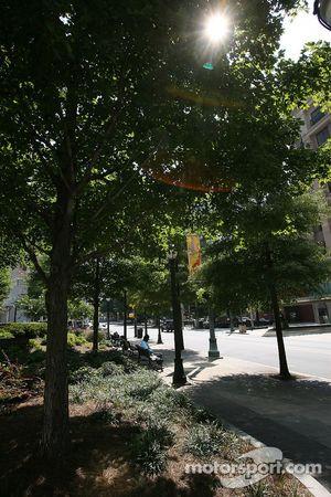 Visite d'Atlanta : un parc tranquille