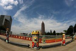 Visite d'Atlanta : sculptures funky dans un parc