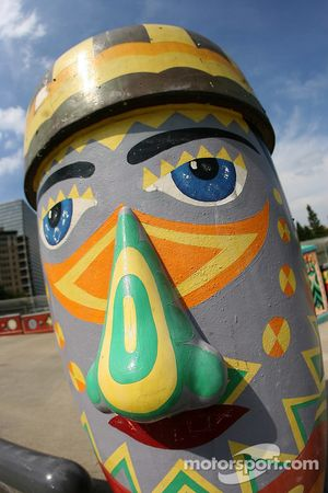 Visite d'Atlanta : sculpture funky