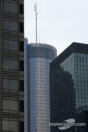 Visit of Atlanta: Atlanta skyline