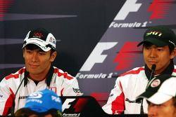 Conférence de presse de la FIA : Takuma Sato et Sakon Yamamoto