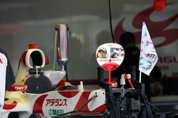 L'équipe Super Aguri F1 Team se prépare pour la course