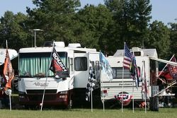 Scene from a campground at Talladega