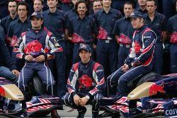 El equipo Scuderia Toro Rosso
