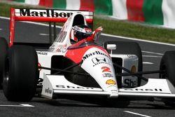 Gerhard Berger im McLaren Honda MP4/6 von 1991
