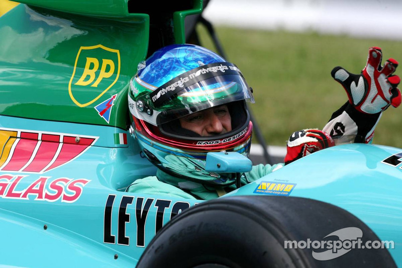Ivan Capelli in the Leyton House at Japanese GP