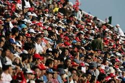 Les fans de Suzuka prêts pour la course