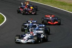 Robert Kubica et Nico Rosberg