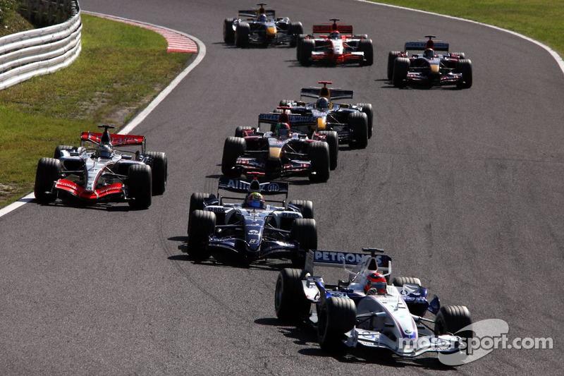 Robert Kubica, Grand Prix Japonii 2006