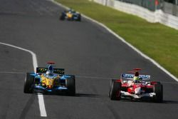 Fernando Alonso y Ralf Schumacher
