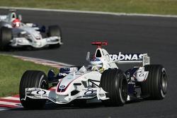 Nick Heidfeld devant Robert Kubica