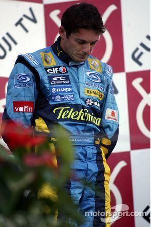 Podio: Giancarlo Fisichella emocional después de la muerte de un amigo la semana pasada