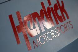 Detail of the Hendrick Chevy