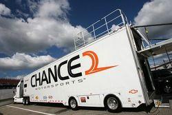 Chance2 Motorsports transporter