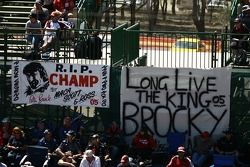 Fans remember Peter Brock