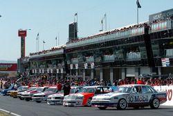 Peter Brock's Bathurst winning cars