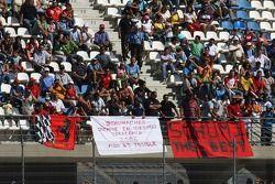 Panneaux pour Michael Schumacher