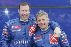 Colin McRae und Nicky Grist