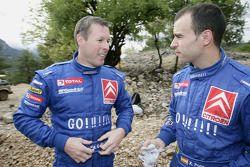 Colin McRae et Xavier Pons