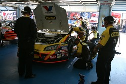 Stanley Tools/Valvoline Dodge crew members at work