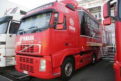 Truck of Yamaha Motor Italia