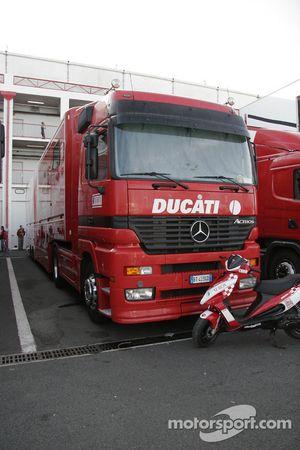 Truck of Ducati Xerox
