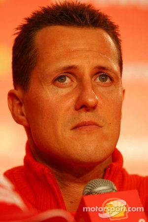 Conferencia de prensa de Shell: Michael Schumacher