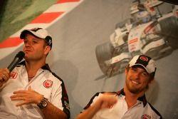 Lucky Strike PR day: Rubens Barrichello ve Jenson Button